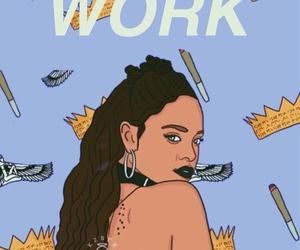 rihanna, work, and wallpaper image