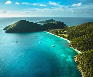 beach, Island, and travel image