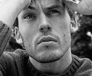 actor, beautiful, and black & white image