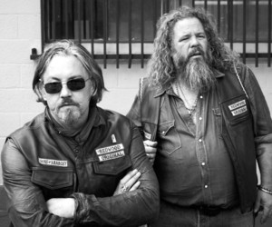 sons of anarchy, soa, and samcro image