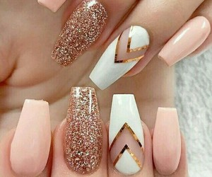 art, nail, and polish image