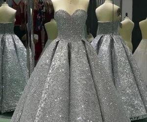 prom dress, girls, and Prom image