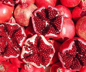 theme, fruit, and red image