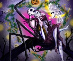 jack and sally, what is this?, and nightmare before christmas image