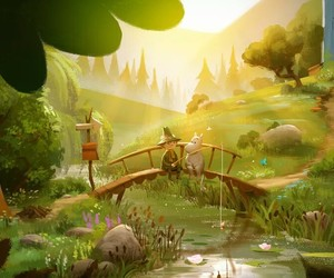 art, pretty, and snufkin image