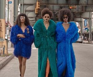 fashion, fur, and ootd image