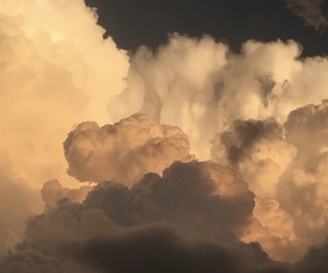 tumblr, aesthetic, and clouds image