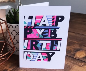 birthday, birthday card, and card image