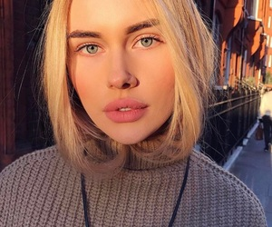 autumn, beauty, and blondie image