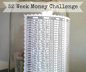 money, diy, and challenge image
