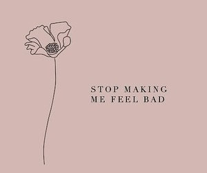 quotes, flower, and sad image