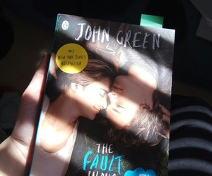 john green, novel, and the fault in our stars image