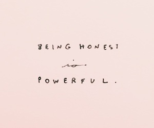 quotes, honest, and pink image