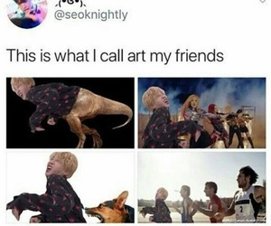 art, funny, and meme image