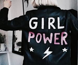 girl, feminism, and girl power image