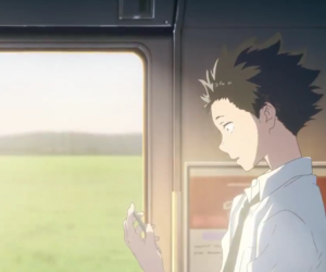 koe no katachi, the shape of voice, and una voz silenciosa image