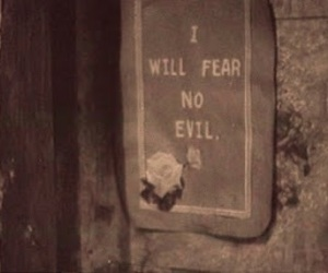 evil, fear, and vintage image