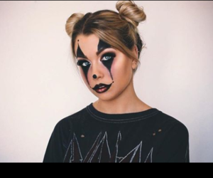 black, clown, and french image