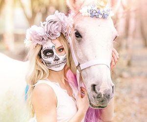 costume, makeup, and skeleton image