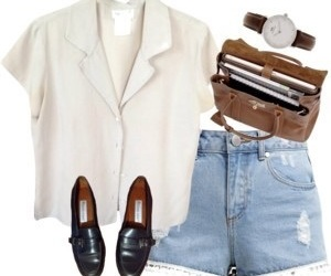 denim, cute, and fashion image