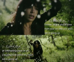 esc, euphoria, and Lyrics image