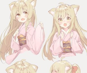 anime, neko, and anime girl image