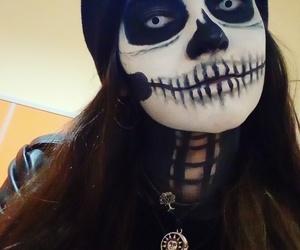 calavera, Halloween, and makeup image