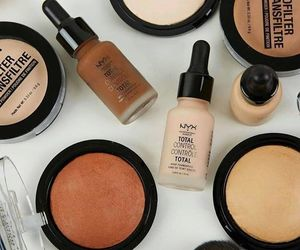 Foundation, Halloween, and makeup image