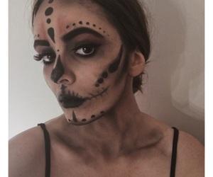 autumn, girl, and makeup image