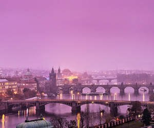 europe, pink, and travel image