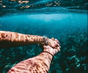 love, sea, and summer image