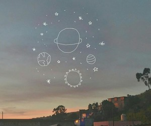 planets, sky, and sun image