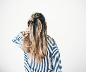 aesthetic, blonde, and hairstyle image