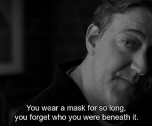 quotes, mask, and sad image