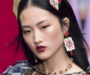 dolce and gabbana and jing wen image