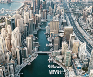 beautiful, city, and Dubai image
