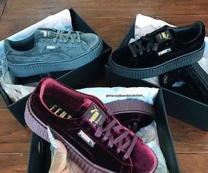 puma, fenty, and shoes image