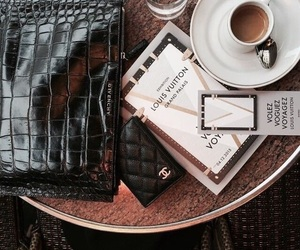 coffee and Louis Vuitton image