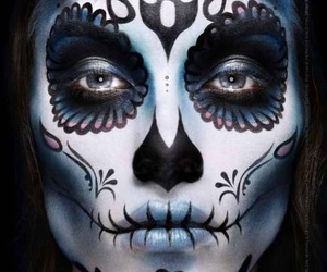 aesthetic, makeup, and dayofthedead image