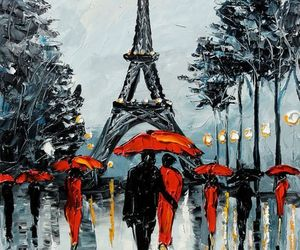 paris, background, and art image