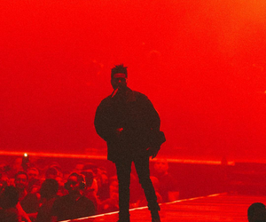 the weeknd, red, and xo image