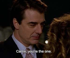 Carrie Bradshaw, Mr Big, and sex and the city image