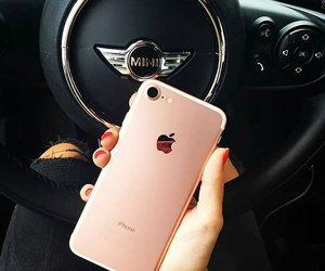 mini, iphone 7, and car image