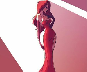 Jessica Rabbit, disney, and red image