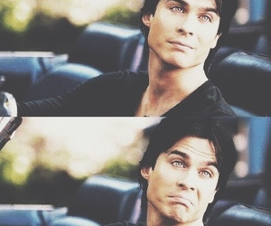 actor, handsome, and damon salvatore image
