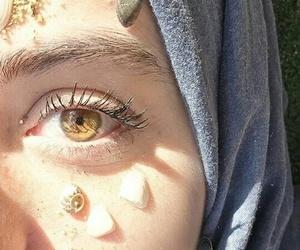 beach and eye image