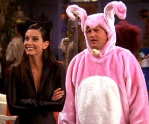 friends, chandler bing, and Halloween image