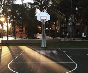 Basketball, sport, and summer image
