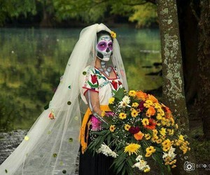 colorful, day of the dead, and dia de muertos image