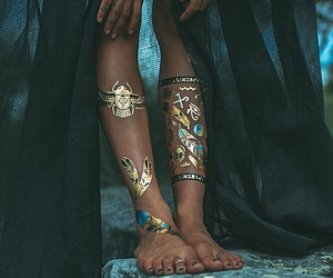 fashion, style, and tattoo image